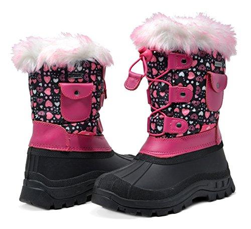 DREAM Kid Ksnow Black Pink Isulated Waterproof Snow Kid