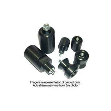 2011-2013 Yamaha FZ8 Black No Cut Frame Sliders - 750-6389 - MADE IN ...