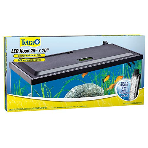 Tetra LED Aquarium Hood, Low Profile, Energy Efficient, 20 inch