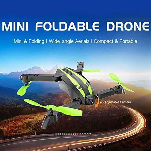 Remote Control Aircraft GW68 Mini Drone Folding Aerial Vehicle Remote Control Aircraft WiFi Quadcopter by puremood (Image #2)