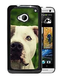 Pitbull Dog Durable High Quality HTC ONE M7 Phone Case