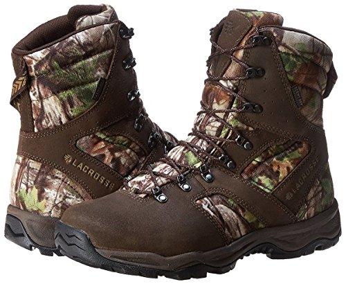 LaCrosse Men's Quick Shot 8 Realtree XT Green Hunting Boot,Brown/Green,12 M US