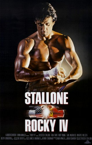 Rocky IV  Movie Poster 24x36