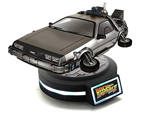 Kids Logic 1/20 Magnetic Floating Delorean Time Machine Back to The Future Part II Action Figure