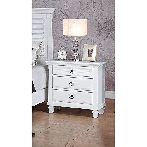 Acme Furniture 22423 Merivale Nightstand One Size White