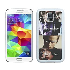 Case For Galaxy S5,Teen Wolf Boys White Samsung Galaxy S5 i9600 Case