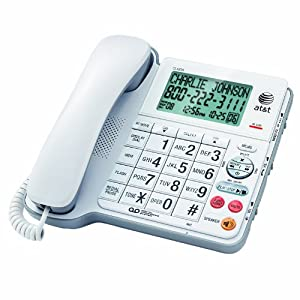 Amazon.com : AT&T Corded Phone with Digital Answering ...