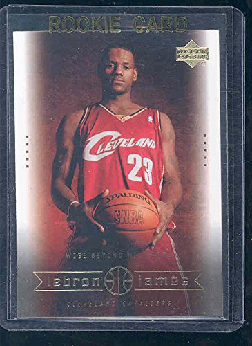 2003 Upper Deck #20 Wise Beyond his Years Lebron James Rookie Card - Mint Condition Ships in a Brand New Holder