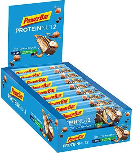 Powerbar - ProteinNut2 18 x 45g Riegel Milk Chocolate Hazelnut (2er Pack)