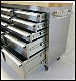 "Thor Group HTC7215W 72"" Wide 15 Drawer Stainless"