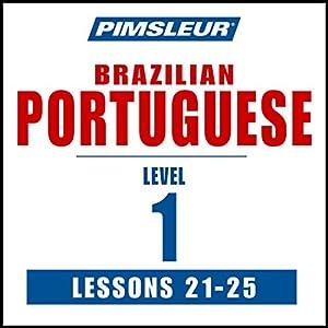 Pimsleur Portuguese (Brazilian) Level 1 Lessons 21-25 Speech