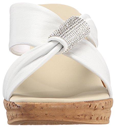 Sandalo Con Zeppa Starr Donna Onex Bianco