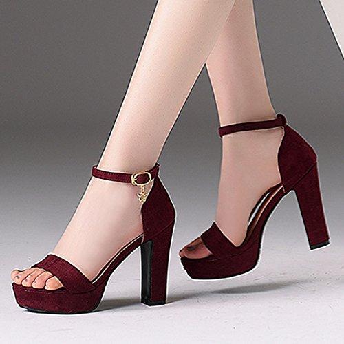 Cheville 1 Bride Femme Artfaerie 66 AQ Bordeaux Rouge 15A20576 wXtWtq7g
