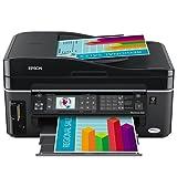 Epson WorkForce 600 Wireless All-in-One Printer (Black) (C11CA18201)