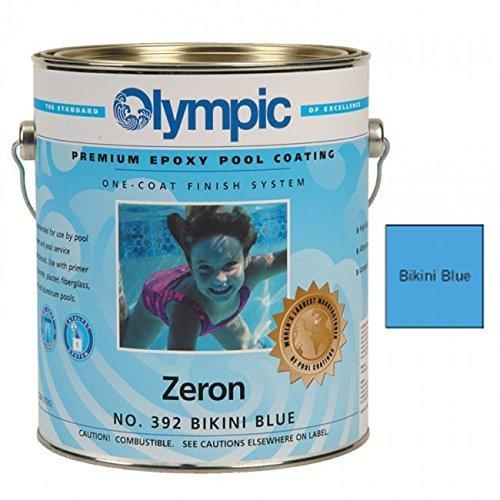 Zeron Epoxy (Olympic Zeron Epoxy Pool Coating Gallon - Bikini Blue by KELLEY TECHNICAL COATING)