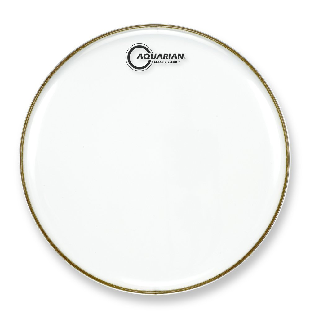 Aquarian Drumheads CC22 Classic Clear 22-inch Bass Drum Head KMC Music Inc