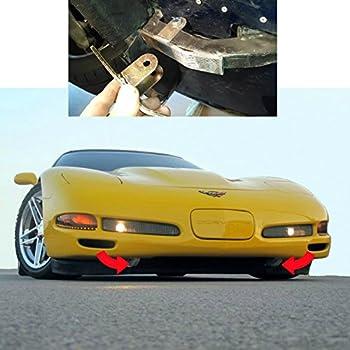 Amazon.com: Corvette Front Skid Plate Wheels for C5 & C6 ...
