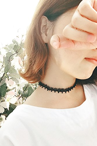 Generic Crown_ tiara _lace_ hand _sum girls neck strap necklace pendant _small_beauty_Asian_temperament_green_collars_ necklace pendant _tide