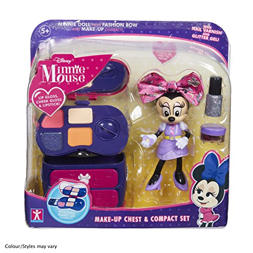 Minnie Mouse 06765 Make-Up Chest and Compact Set, Multicolour -