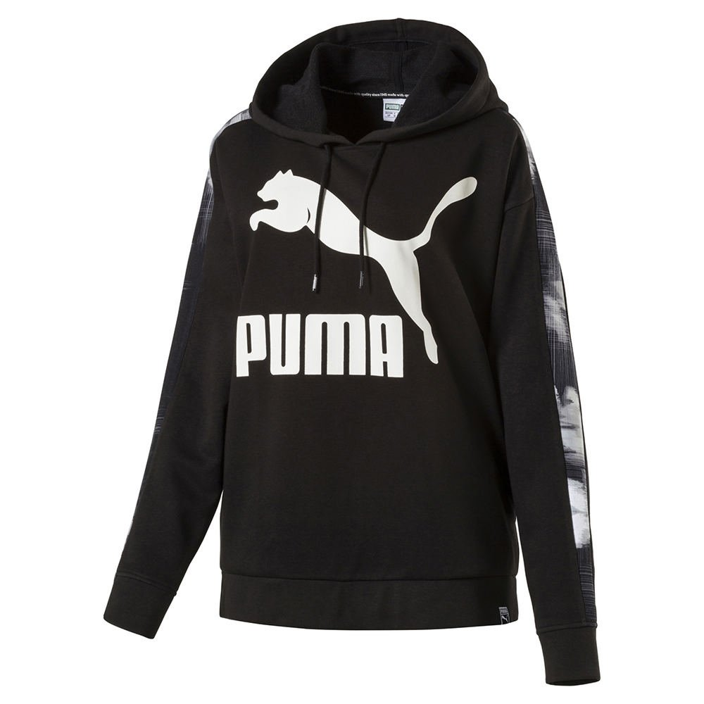 PUMA Women's Classics Logo T7 Hoody AOP