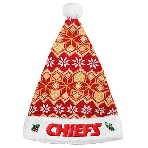 Kansas City Chiefs Knit Santa Hat – Football Theme Hats 2a4e630589d6