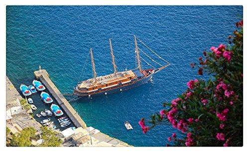 Grecia marinas barcos mar barcos Sailing Oia Santorini mar Egeo ...