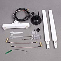 Hobby Signal Image Transmission Omnidirectional Antenna on Car Roof with Support Antenna Combo for DJI Inspire Series