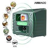 Anmago Animal Repellent Ultrasonic, Outdoor...