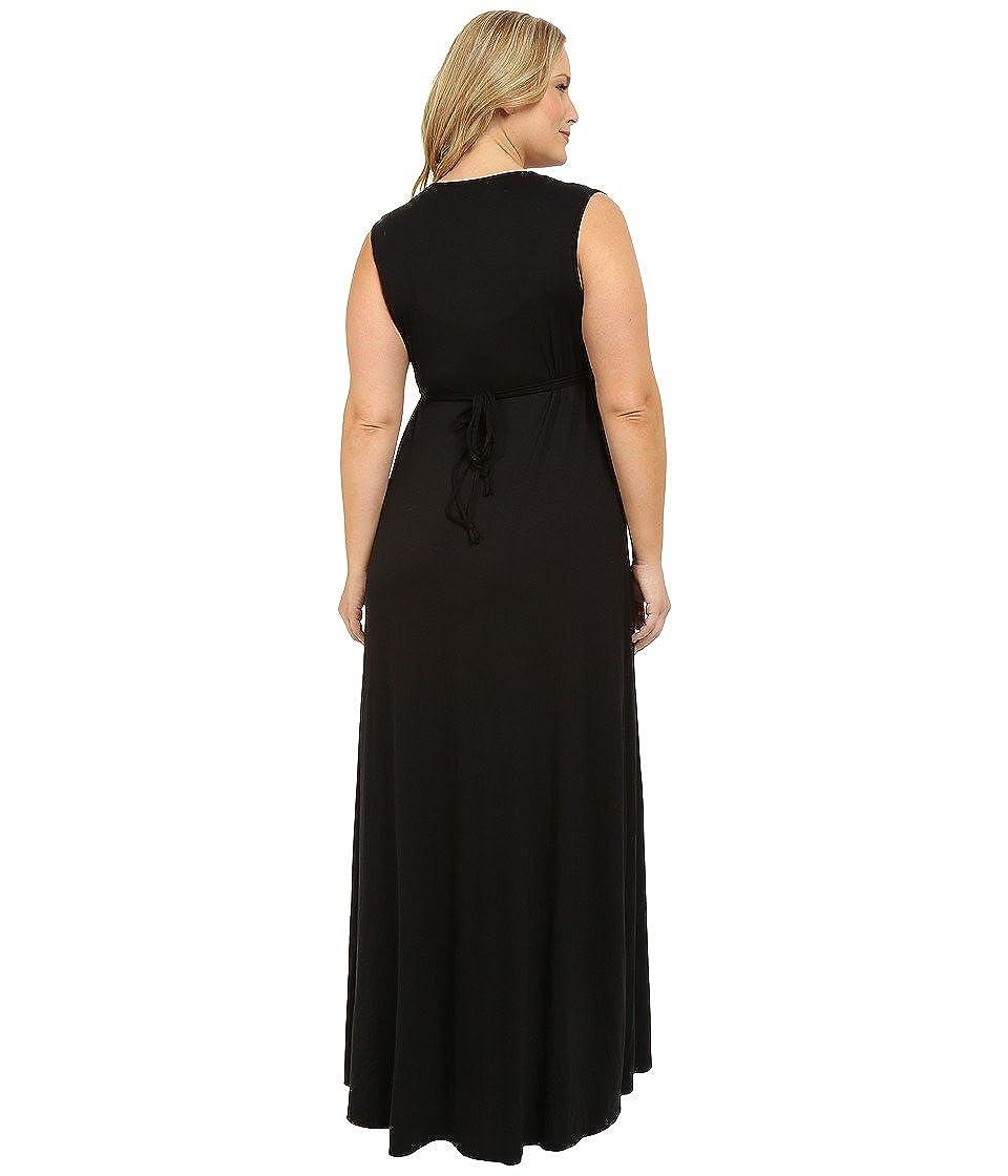 Rachel Pally Womens Plus Size Long Sleeveless Caftan
