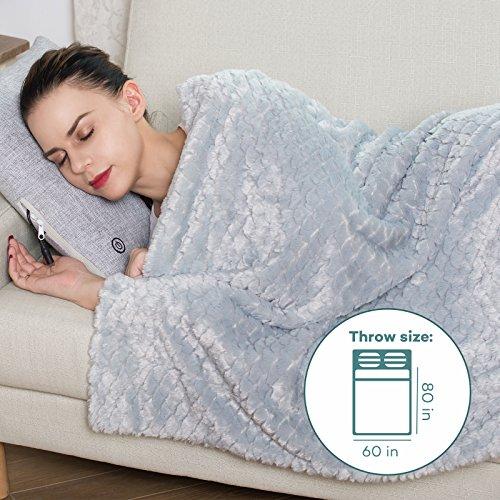 Sable Throw Blanket Faux Fur