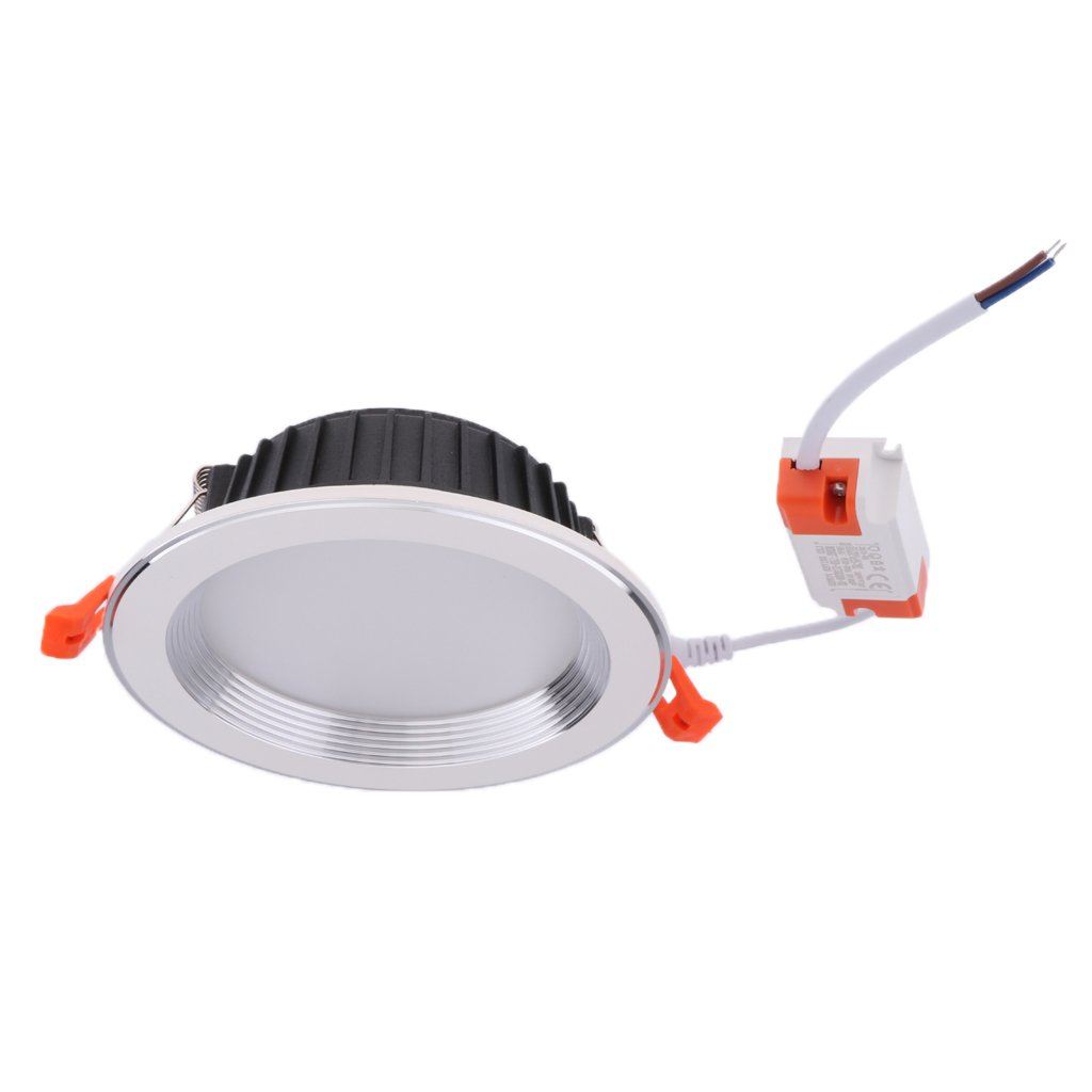 Baosity Round LED Downlight Recessed Fixture Ceiling Lamp 6000K LED Spot Light - 4 inch 9W JXTD004