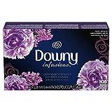 Downy infusions hojas para secadora, aroma lavander, 105 piezas