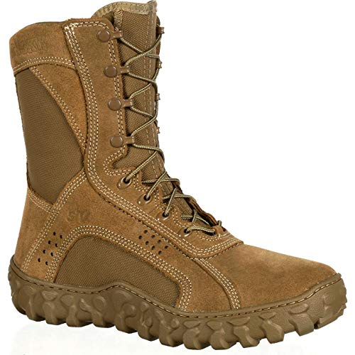 ROCKY Men's RKC050 Military and Tactical Boot, Coyote Brown, 9 M US