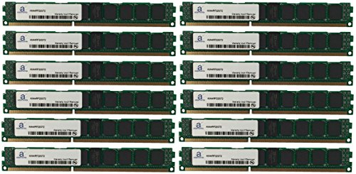 (Adamanta 192GB (12x16GB) Server RAM Upgrade for IBM BladeCenter HS22 7870 DDR3 1333Mhz PC3-10600 ECC Registered VLP 2Rx4 CL9 1.35v)