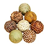Set of 8 Natural Ball Fillers 4''