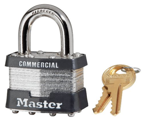No 1 Laminated Steel - Master Lock 1KA 2914 #1 Laminated Padlock