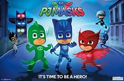 PJ Masks - Hero Poster (86,36 x 55,88 cm)