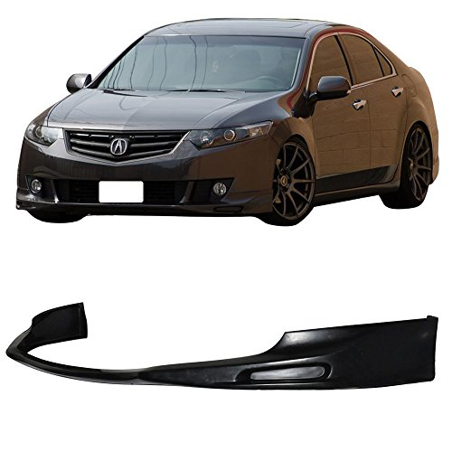 09-11 Acura TSX 4 Door Add-On Front Bumper Lip Poly Urethane