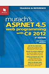 Murach's ASP.NET 4.5 Web Programming with C# 2012 (Murach: Training & Reference) Paperback
