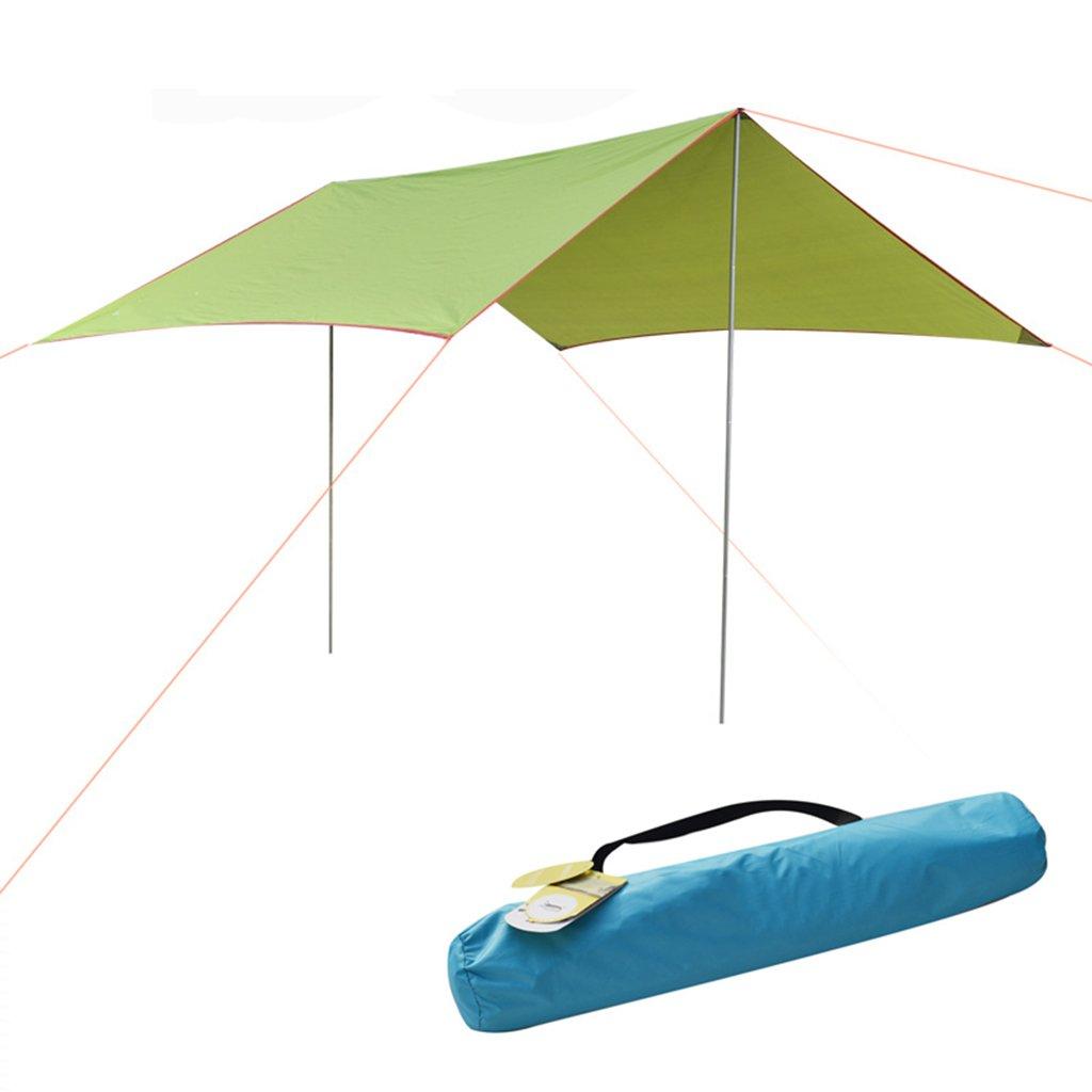 キャノピーテント、屋外抗紫外線、防水マット、多機能ハンモック防湿マット、118 * 118インチ  A B07CR82R3K