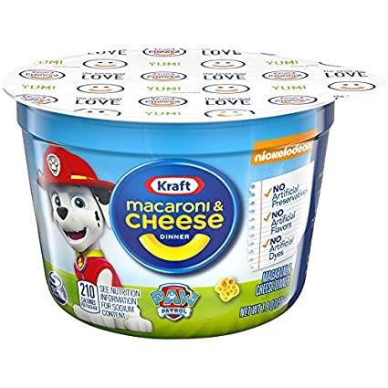 Kraft Macaroni & Cheese Dinner Movie Shapes, Single Serve Cup, 1.9 Ounce (Pack of 10): Amazon.es: Alimentación y bebidas