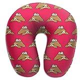Camp Ursula Animal Cute Sloth Guinea Pig Soft Memory Foam Neck Support Travel Pillow
