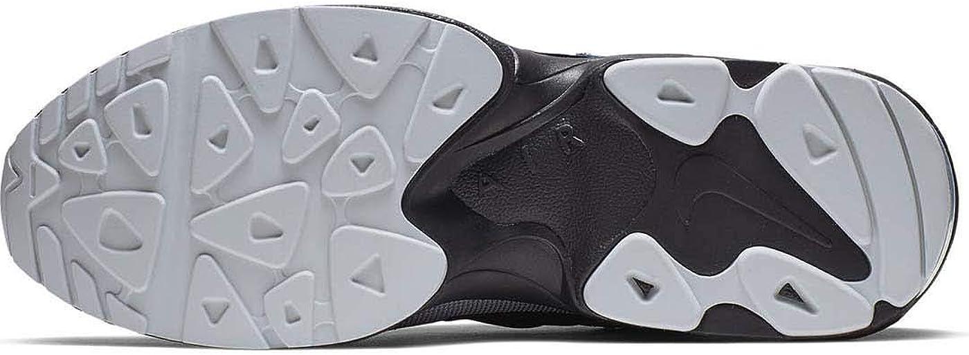 NIKE Air Max2 Light, Zapatillas de Atletismo para Hombre Multicolor Black Thunderstorm Wolf Grey Volt 000