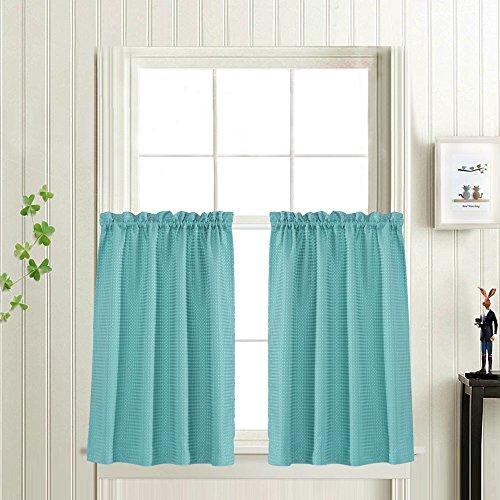 curtains bathroom window - 1