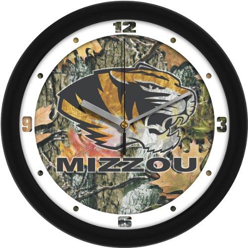 SunTime NCAA Missouri Tigers Wall Clock - Camo