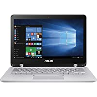 ASUS 2-in-1 13.3 Touchscreen Full HD Convertible Premium Laptop, 7th Intel Core i5-7200, 6GB DDR4 RAM, 1TB HDD, Backlit keyboard, 802.11ac, Bluetooth, HDMI, Fingerprint Reader, Win 10