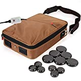 Portable Massage Stone Warmer Set - Electric Spa