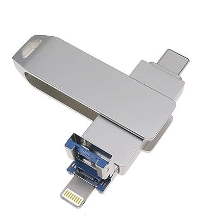 3 en 1 USB 3.0 Flash Drives para iPhone OTG Jump Drive ...