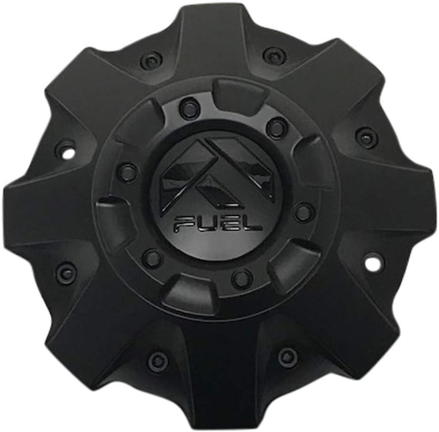 Fuel Offroad Wheels 1001-63MBGB 1001-63 Black San Antonio Mall Matte Cap Sale price w Center