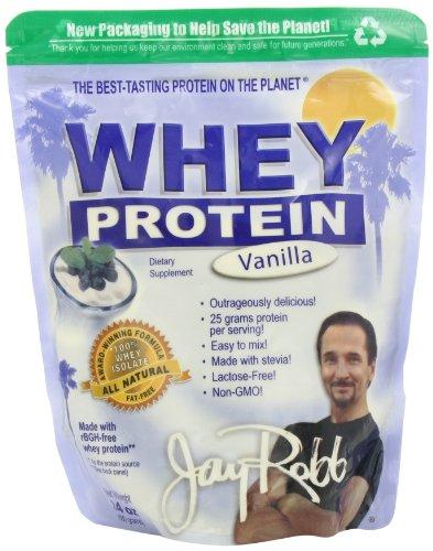 Jay Robb Whey Protein Powder Vanille - 24 oz